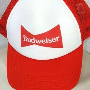 Budweiser Snapback Baseball Cap Trucker Hat